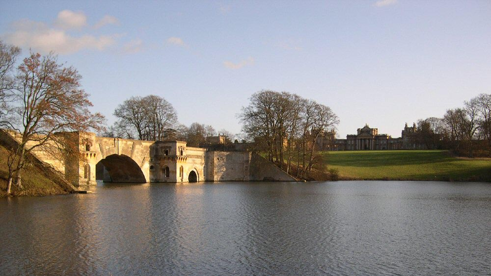 Blenheim Palace Grand Bridge